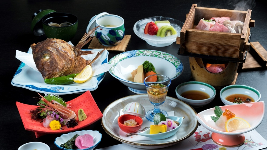 【基本プラン】季節の食材を用いた『庄内名物和食会席膳』
