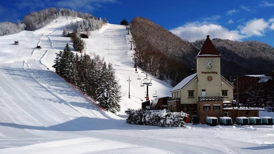 *【サンバレースキー場】スキーもスノーボードもナイターも存分にお楽しみください!