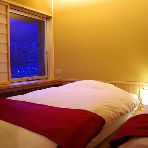 露天温泉付 スイート和洋室 寝室 331