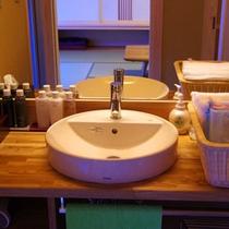 露天温泉付 和室 洗面所 332