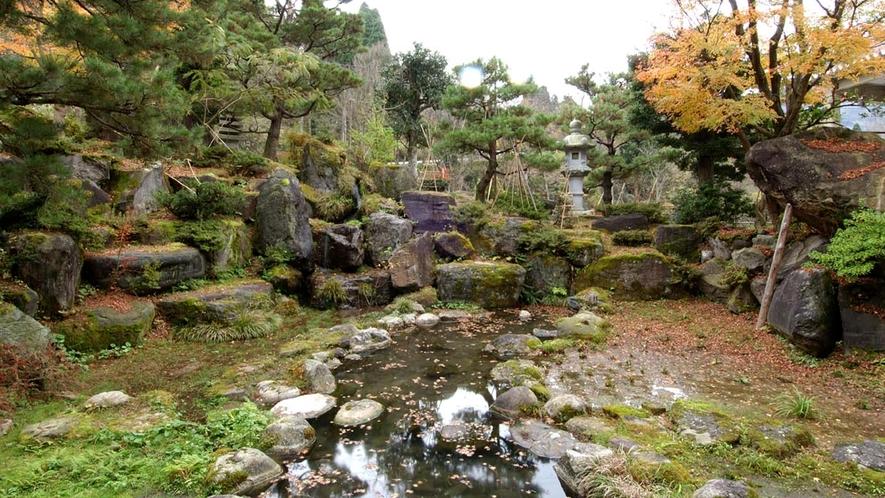 *■庭■館のお庭では四季折々の自然をご覧いただけます。ホッと心がなごみますね♪