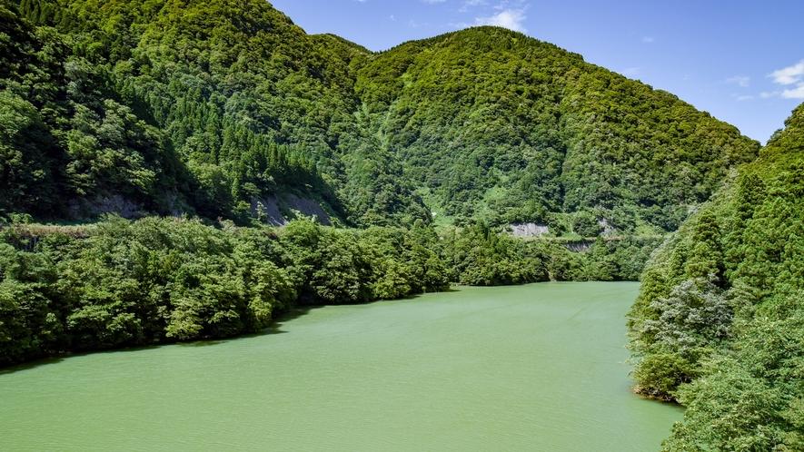 *【庄川峡】豊かな自然の中で心から癒しのひと時をお過ごし下さい。