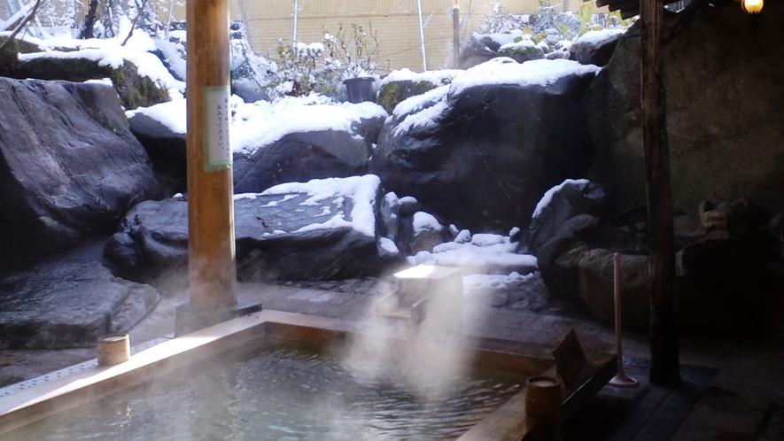 *■雪見露天■冬の時期には露天風呂から、雪景色が…♪