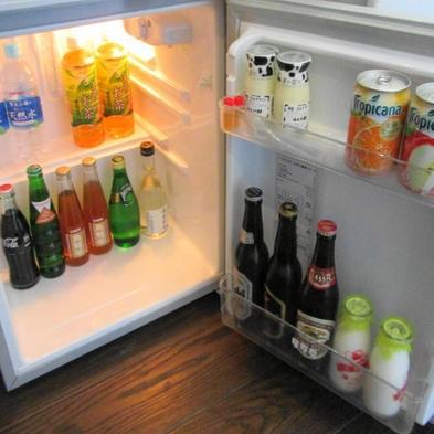 【ドリンクフリー】ご夕食時のドリンク無料(飲み放題)+客室冷蔵庫内ドリンク無料
