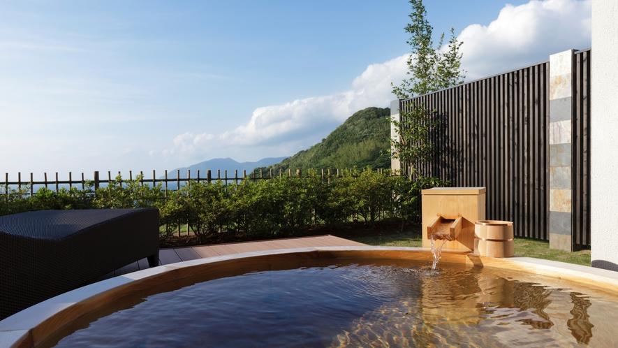山の音 露天風呂