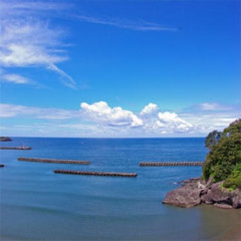 *松崎海岸の景色