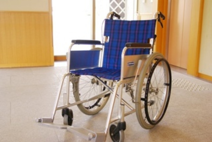 車椅子貸出あります。