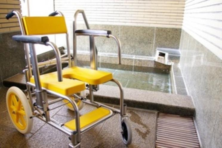 シャワー車椅子