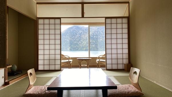 4月〜【新館】和室10畳(眺望:湖)BT付<禁煙>4〜8階