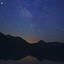*満点の星空