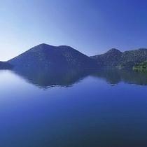 *幻想的な然別湖