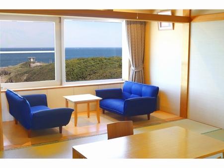 和室(オーシャンフロント♪眼前に広がるオホーツク海)
