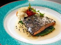謝恩プラン魚料理一例