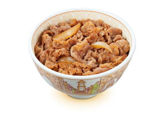 牛丼(すき家)