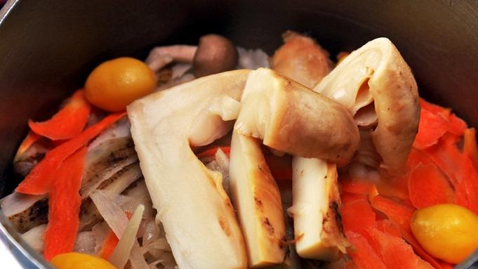 【秋限定】今が旬!『本しめじ』『松茸土瓶蒸し』『常陸秋そば』の贅沢トリオで食欲の秋、大満腹!