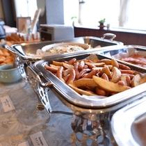 ◆朝食バイキング/北広島町のおいしいお米と名水で作る料理が絶品のバイキング。