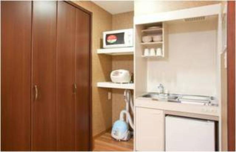 全客室にはUBと厨房つきです。
