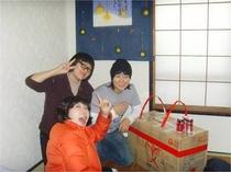 大笑いのキム・スクとグォン・ジンヨンさん