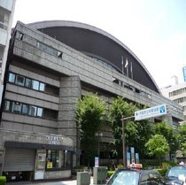 【大阪府立体育館】ホテルから徒歩15分程♪