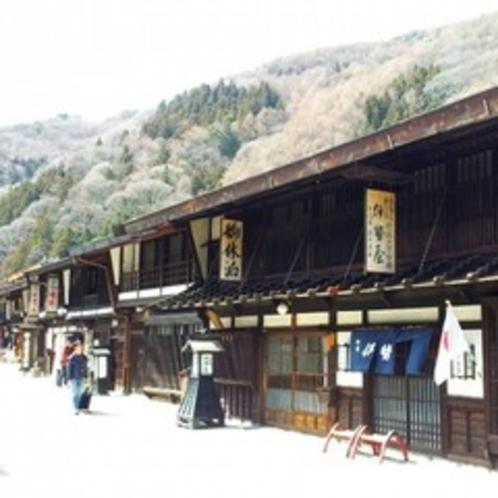 ≪木曽・奈良井宿までお車で約35分≫