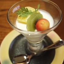 *【ご夕食一例・デザート】