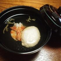 *【ご夕食一例・椀物】職人が腕を揮う料理をご堪能下さい