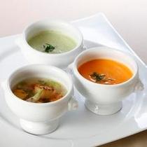 【カフェディナーイメージ】スープ