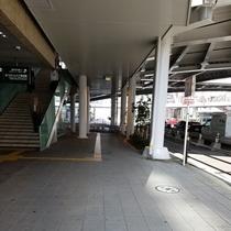 関西国際空港リムジンバス乗り場から途中