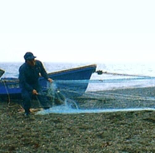 漁師のおじいちゃん