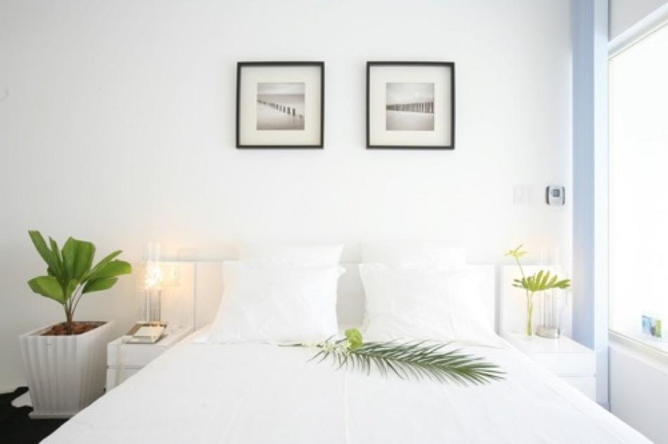 純白のお部屋