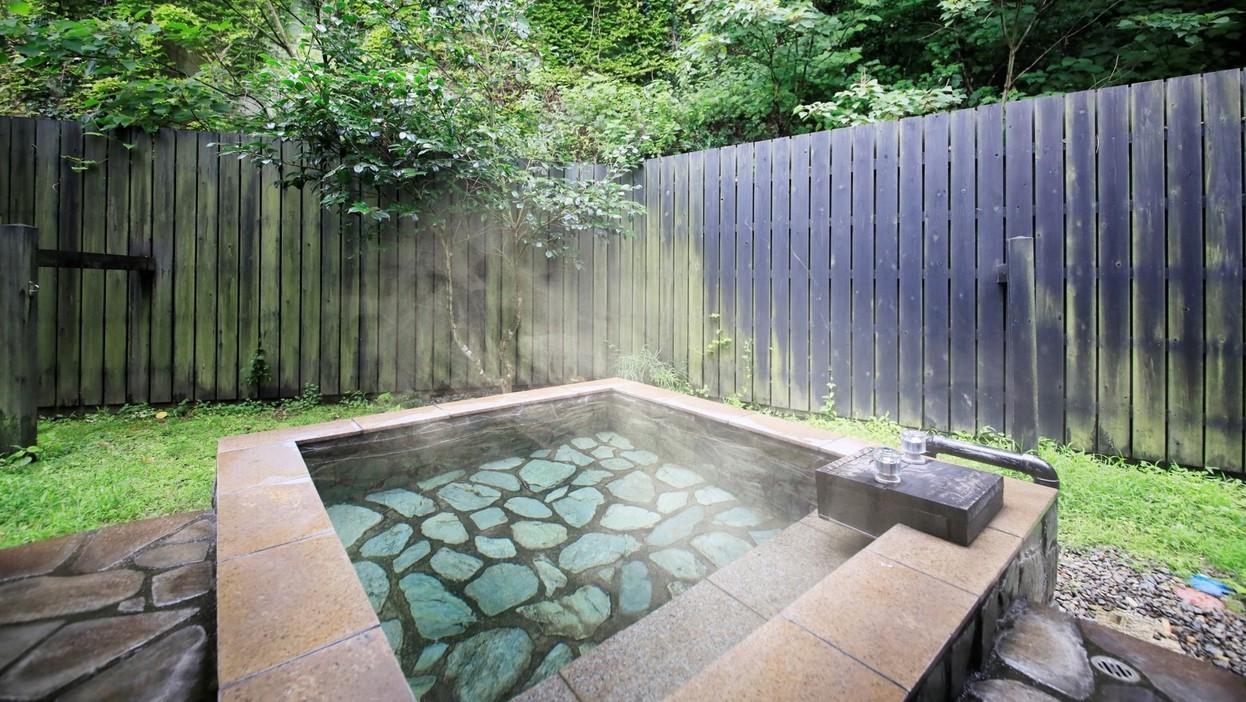 ■各お部屋に露天風呂完備!