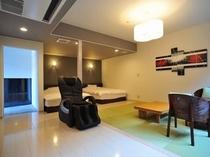 離れのお部屋リビング(A2室63平米)