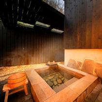 """全室に露天風呂と内風呂を完備。別府八湯の一つ""""亀川温泉""""の湯を贅沢に…"""