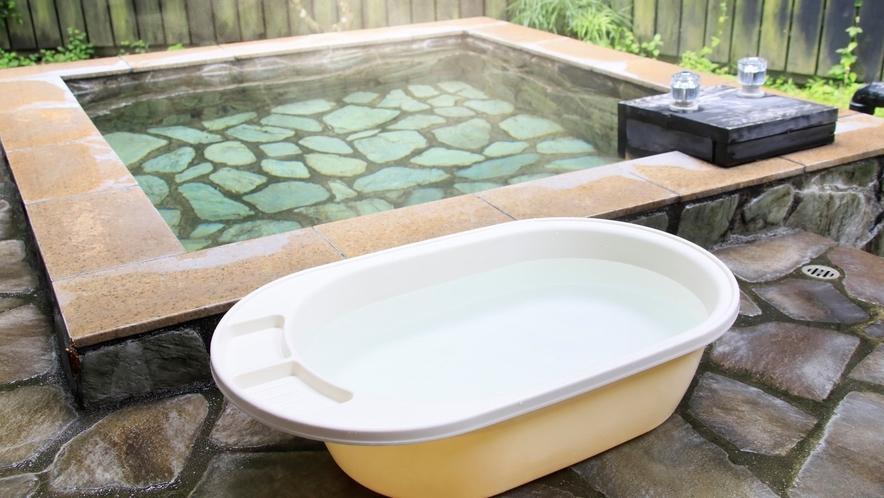 ■露天風呂とわんちゃん用バスタブ
