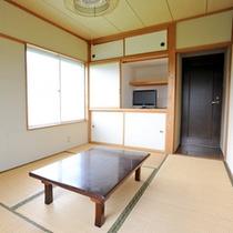 *【和室(一例)】角部屋は2面採光のため、室内がより明るい印象に!テレビは全てのお部屋にございます。