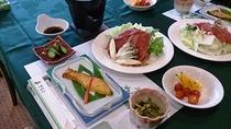夕食(しゃぶしゃぶ)