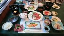 夕食(すき焼き一例)