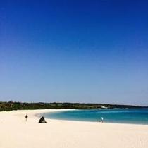渡久地の浜