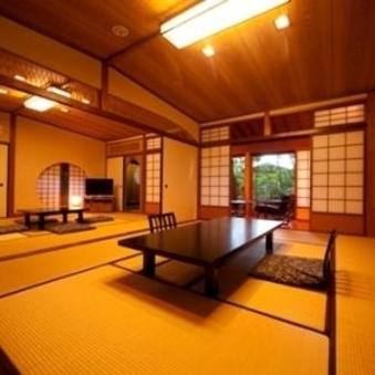 【もみじ】浴室は内湯(温泉)6名まで泊まれる広い2間続き和室