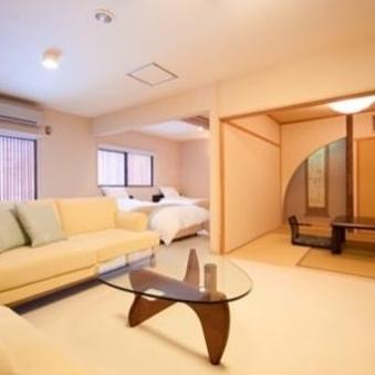 和室+洋室+イステーブル式の個室お部屋食