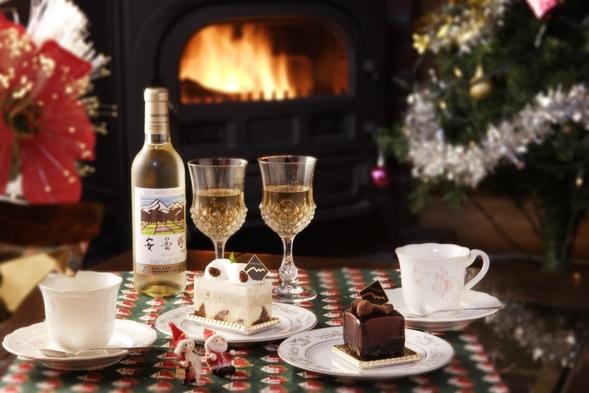 ★ワイン or ケーキセット付!『クリスマス限定カップルプラン♪』