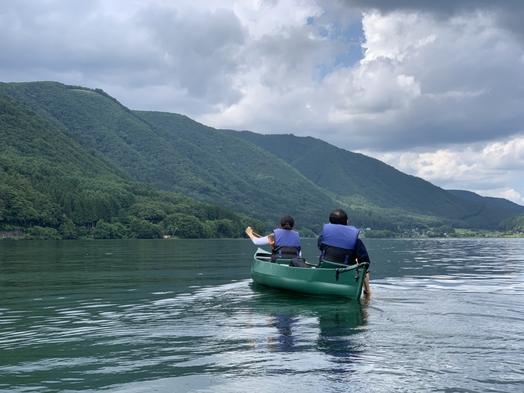【カヌー/カヤック割引体験プラン】自然豊かな木崎湖を満喫して、ログハウスのコテージに泊まろう♪