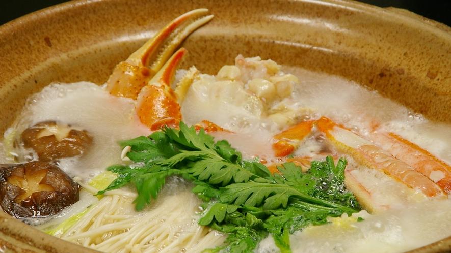 *カニすき鍋(イメージ)