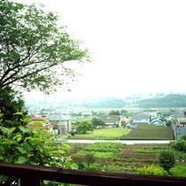 *お部屋からの眺め