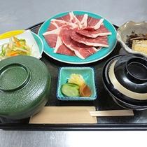 *ランチ/新鮮!いのしし味噌焼膳