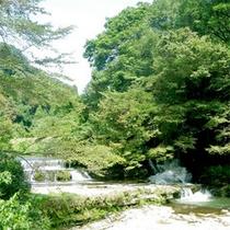 ■宮島峡の一の滝■