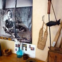 *【館内展示】秋田や奥森吉にまつわる展示がございます。