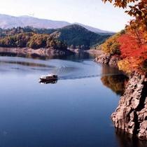 *【遊覧船】太平湖の紅葉狩り♪