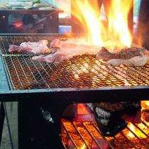 *【BBQ】食材を自分たちで焼き上げるから楽しい!