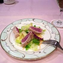 *【食事例】彩り豊か!盛り付けにもこだわっております。